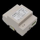 Distribuitor de semnal cu 4 ramuri Cu ajutorul lui se realizeaza conectarea la magistrala a pana la 4 posturi interioare. DT-DBC4