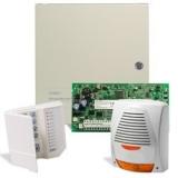 Kit DSC KIT 1616-SIR 1 x centrala PC1616 (tastatura inclusa),1 x transformator TC45/16,1 x sirena de exterior autoalimentata cu flash