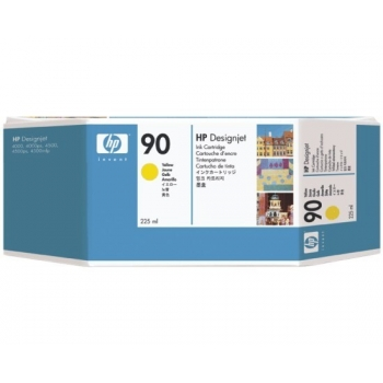 Cartus Cerneala HP Nr. 90 Yellow 225 ml for Designjet 4000 4500 series C5064A