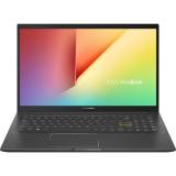 Laptop ASUS 15.6'' VivoBook 15 K513EA-BN800, FHD, Procesor Intel® Core™ i5-1135G7 (8M Cache, up to 4.20 GHz), 8GB DDR4, 512GB SSD, No OS, Indie Black