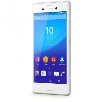 """Telefon Mobil Sony Xperia M4 AQUA E2303 White 5"""" 720 x 1280 Cortex A53 Octa Core 1.5GHz memorie interna 8GB Camera Foto 13MPx Android v5.0"""