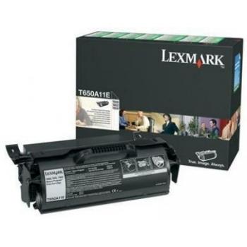 Cartus Toner Lexmark T650A11E Black Return Program 7000 pagini for T650, T652, T654
