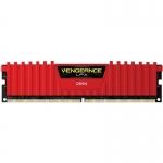 Memorie RAM Corsair Vengeance LPX Red 8GB DDR3 2666MHz CL16 CMK8GX4M1A2666C16R