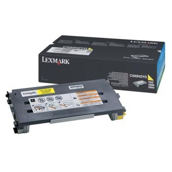 Cartus Toner Lexmark C500H2YG Yellow 3000 pagini for C500N, X500N, X502N