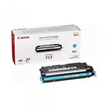 Cartus Toner Canon CRG-717C Cyan 4000 Pagini for MF 8450 CR2577B002AA