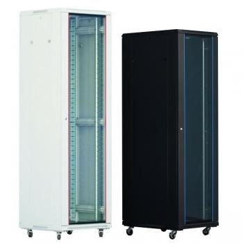 "Rack Server Xcab XCAB-18U60100S 18U 19"" 600x1000mm usa fata sticla securizata cu montura metalica, usa spate metal plin"