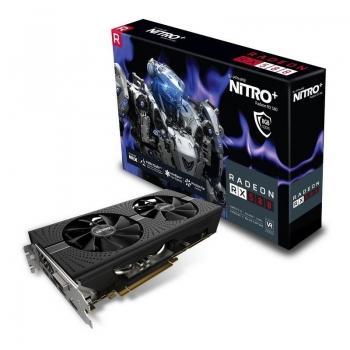 Placa video Sapphire AMD Radeon RX 580 NITRO+ 8GB GDDR5 256-bit PCI-E x16 3.0 DVI HDMI DisplayPort 11265-01-20G