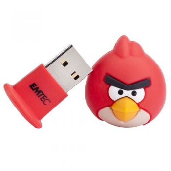 Memorie USB Emtec A100 4GB USB 2.0 Angry Birds Red Bird EKMMD4GA100