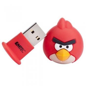 Memorie USB Emtec A100 4GB USB 2.0 Angry Birds Red Bird EKMMD4GA100