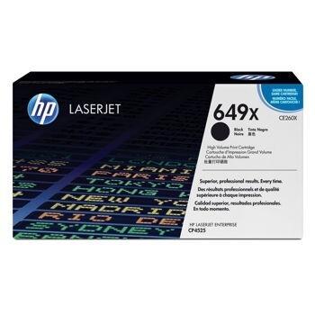 Cartus Toner HP Nr. 649X Black 17000 Pagini for Color LaserJet CP4525DN, CP4525N, CP4525XH CE260X