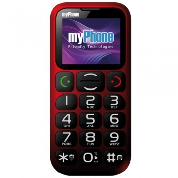 Telefon Mobil myPhone 1045 Simply+ Red MYPHONE1045RED