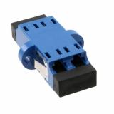 Coupler LC Duplex SM Plastic/Ceramic, Clip/Screw, Albastru (moq=10pcs) AMP_6457567-4