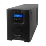 UPS CyberPower PR1000ELCD Line-Interactive 1000VA / 900W 230V 50/60Hz, factor de putere 0.9, afisaj LCD, AVR, forma tensiune aproximativ sinus, iesire 8 x prize IEC C13, autonomie 14 minute la 50% sarcina, garantie 24 luni.