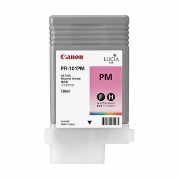 Pigment Ink Tank Canon PFI-101PM Photo Magenta 130 ml for iPF5X00, iPF6100 CF0888B001AA