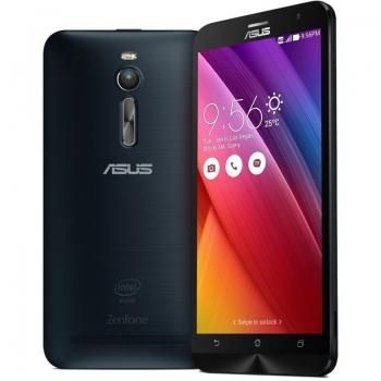 "Telefon Mobil Asus Zenfone 2 4G Black Dual SIM 5.5"" 1080 x 1920 Intel Atom Quad Core 2.3 GHz memorie interna 64GB Camera Foto 13MPx Android v5.0 QM_109708"