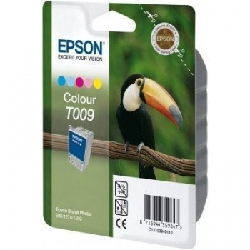 Cartus Cerneala Epson T009 Color 330ml for Stylus Photo 1270, 1290, 900 C13T00940110