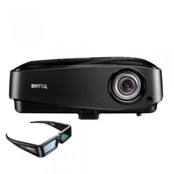 Videoproiector BenQ MW519 DLP 1280x800 3D Ready 2800ANSI 13000:1 HDMI VGA S-Video USB + Ochelari 3D 9H.J6K77.35E