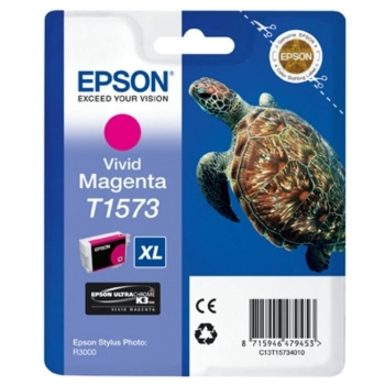 Cartus Cerneala Epson T1573 Vivid Magenta 25.9ml for Epson Stylus Photo R3000 C13T15734010