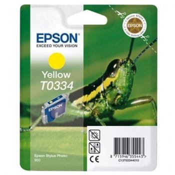 Cartus Cerneala Epson T0334 Yellow 440 Pagini for Stylus Photo 950 C13T03344010