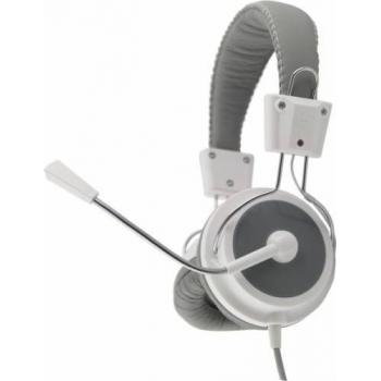 Casti Esperanza EH154W cu microfon si control al volumului White 5901299908631