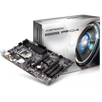 Placa de baza ASRock B85 Pro4 Socket 1150 Intel B85 4x DDR3 VGA DVI HDMI ATX