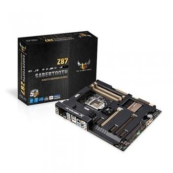 Placa de baza Asus Sabertooth Z87 Socket 1150 Intel Z87 4x DDR3 HDMI DisplayPort ATX