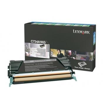 Cartus Toner Lexmark C736H2KG Black High Yield 12000 pagini for C736DN, C736DTN, C736N, X736DE, X738DE, X738DTE