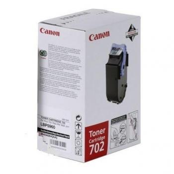 Cartus Toner Canon EP-702C Cyan 6000 Pagini for LBP 5960, LBP 5970, LBP 5975 CR9644A004AA