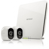 Netgear 2 x HD Camera WiFi + Smart Home Base Day/Night In/0utdoor (VMS3230) VMS3230-100EUS