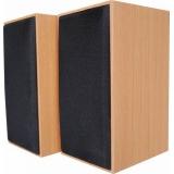 Boxa Serioux, 2.0 SoundBoost 2000C, 6W, frecvența raspuns: 100-18KHZ ,raport semnal/zgomot: 80 dB, conexiune: jack 3,5 mm, alimentare: USB 5V1A, carcasă din lemn, dimensiuni: 147mm x 74mm x 94mm