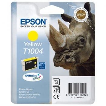 Cartus Cerneala Epson T1004 Yellow for B1100 BX310FN B40W BX600FW BX610FW SX600FW SX610FW SX510 SX515W C13T10044010