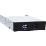 Chieftec MUB-3002 USB Hub, 2xUSB 3.0 port