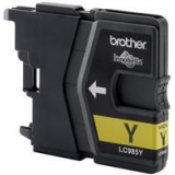 Cartus Cerneala Brother LC985Y Yellow capacitate 260 Pagini for Brother DCP-J125, DCP-J315W, DCP-J515W