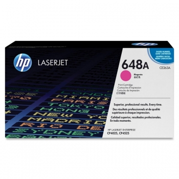 Cartus Toner HP Nr. 648A Magenta 11000 Pagini for Color LaserJet CP4025DN, CP4025N, CP4525DN, CP4525N, CP4525XH CE263A