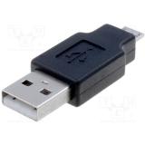 Adaptor OTG USB-microUSB VCOM 6937510890491