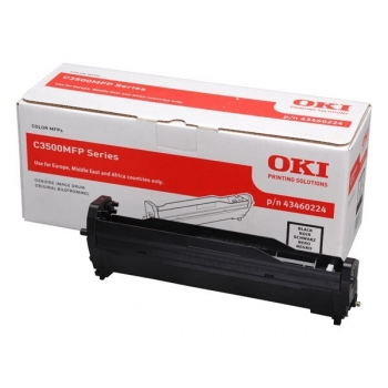 Unitate Cilindru Oki 43460224 Black 15000 Pagini for C3520MFP, C3530MFP, MC350, MC360