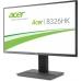 """Monitor LED IPS Acer 32"""" B326HKAymjdpphz Ultra HD 4K 3840x2160 DVI HDMI DisplayPort 6ms UM.JB6EE.A02"""