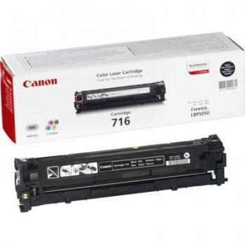 Cartus Toner Canon CRG-716BK Black 2300 Pagini for LBP 5050, LBP 5050N, MF 8030CN, MF 8050CN CR1980B002AA