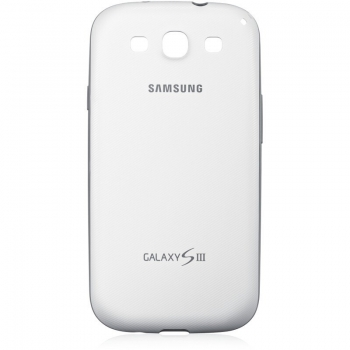 Husa Samsung pentru i9300 Galaxy S III White EFC-1G6BWECSTD