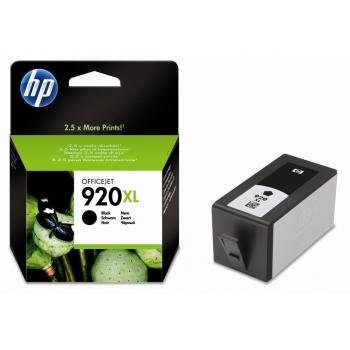 Cartus Cerneala HP Nr. 920XL Black 1200 Pagini for OfficeJet 6000, 6500, 6500 WIRELESS, 6500A E-AIO, 6500A Plus E-AIO, 7000, Pro 7500A CD975AE