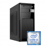 Sistem PC Bocris Intel Core i3 9100F Coffee Lake 3.6GHz RAM 4GB DDR4 SSD 480GB nVidia GeForce GT 710