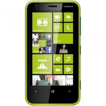 Telefon Mobil Nokia Lumia 620 Lime Green Dual Core 8GB 3G NOK620LG