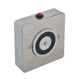 Electromagnet de retinere usa deschisa YD-603 Retentie 50kgf carcasa din inox, buton de deblocare, montare pe perete