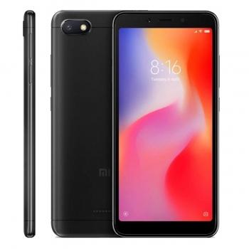 """Smartphone Xiaomi Redmi 6A Black Dual SIM 5.45"""" 720 x 1440 Quad Core 2GHz memorie interna 16GB Camera foto 13MPx Android 8.1 baterie 3000mAh"""