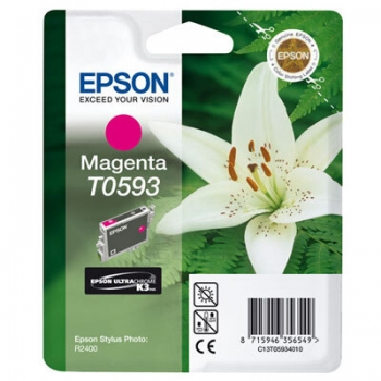 Cartus Cerneala Epson T0593 Magenta 13ml for Stylus Photo R2400 C13T05934010