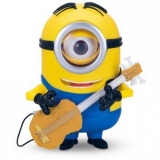 MINION STUART - TALKING ACTION FIGURE WITH INTERACTIVE GUITAR!