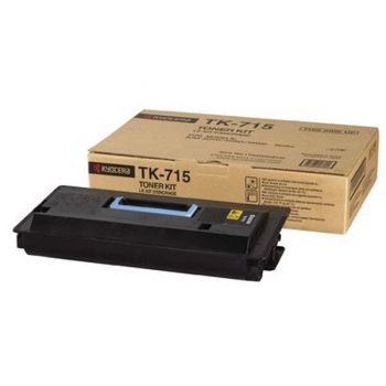 Cartus Toner Kyocera TK-715 Black 34000 Pagini for KM-3050, KM-4050, KM-5050