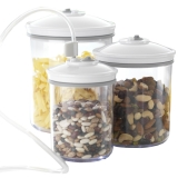 Model : Set of 3 canisters (0.7L, 1.4L ::: 2.4L), :