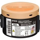 Cartus Toner Epson C13S050650 Black 2200 Pagini for Aculaser M1400, MX14, MX14NF