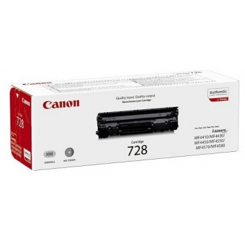 Cartus Toner Canon CRG-728B Black 2100 Pagini for MF-4410, MF-4430, MF-4450, MF-4550D, MF-4570DN, MF-4580DN CH3500B002AA